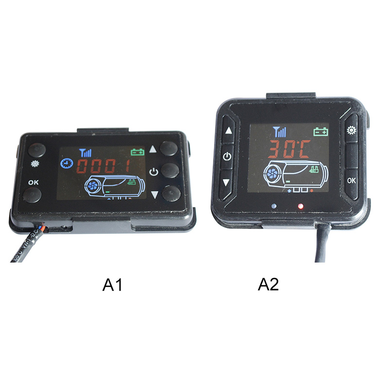 Universal Car LCD Monitor Parking Heater Switch Auto Vehicle Track Air Heater
