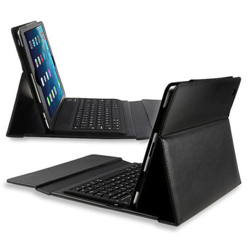 #AE NEW HOT Selling Bluetooth Wireless Keyboard Folding PU Leather Case Cover For Apple iPad Air 5 5th jn1