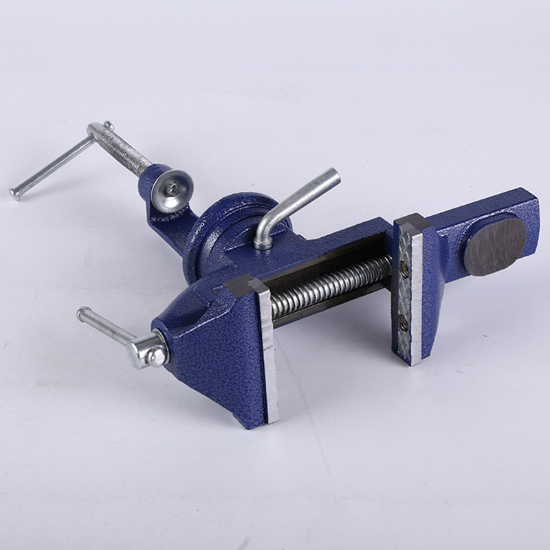 Urijk 1Pcs 50mm 60mm Bench Table Swivel Lock Clamp Vice Craft Jewelry Hobby Vise Factory Household Factory Bench Vise DIY Tool