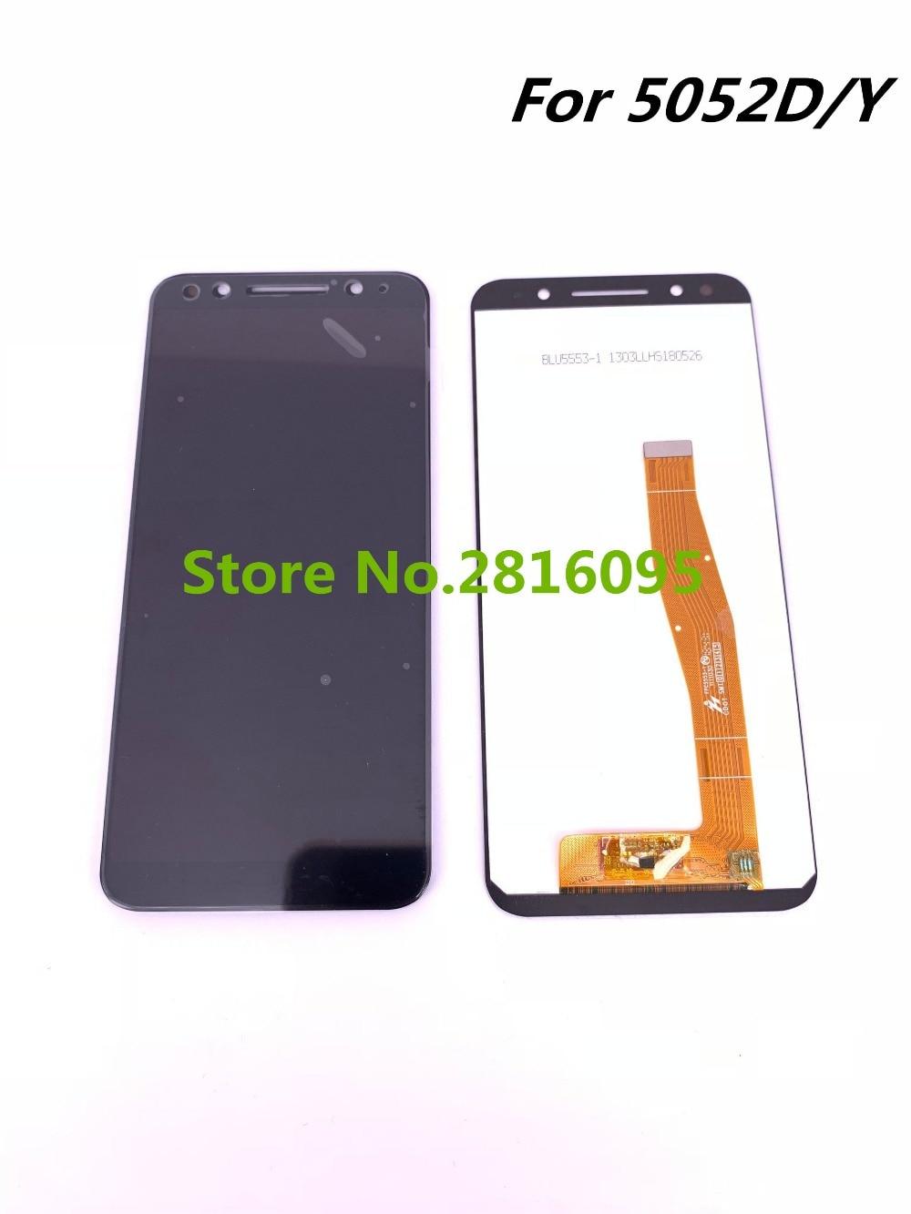 Новый ЖК-дисплей для Alcatel 3 5052D 5052Y 5052A OT 5052D OT5052Y ЖК-дисплей в сборе с фотографией