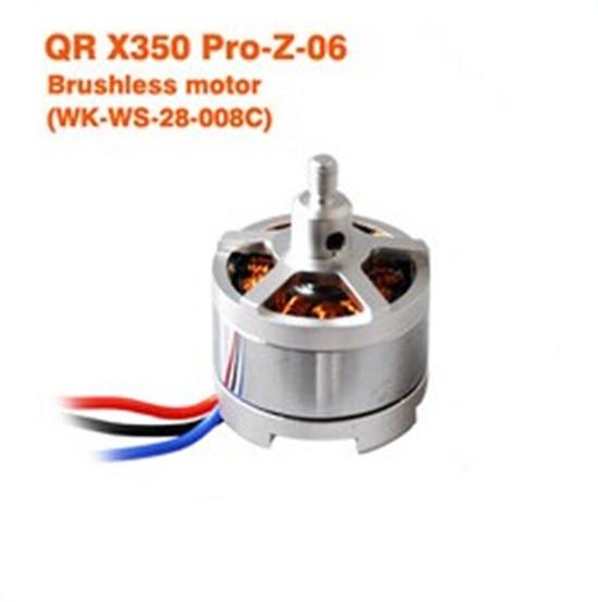 Walkera QR X350 PRO Brushless Motor QR X350 PRO-Z-06 (WK-WS-28-008C) F08730 crystal lux светильник подвесной crystal lux campanella sp1 smoke