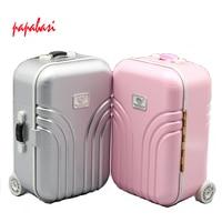 Salon Suitcase Blyth Trunk Box For Blythe Barbie BJD Accessories Pullip Tanggo Momoko Licca Doll Trunk