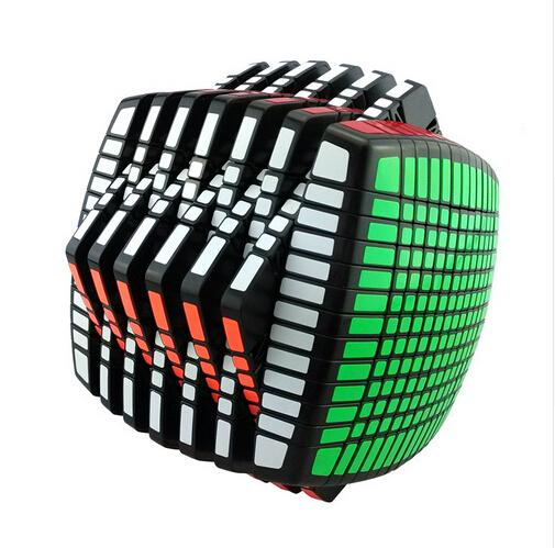 YongJun Moyu 13*13*13 Magic Speed Cubo Magico Cubos Toy Educação Profissional Em Todo O Mundo O Mais Alto Nível de 13 Camadas 3 Cores