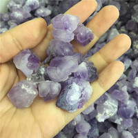 Wholesale price!1000g natural amethyst quartz crystal flower rough gemstone reiki healing meditation crystals for DIY jewelry