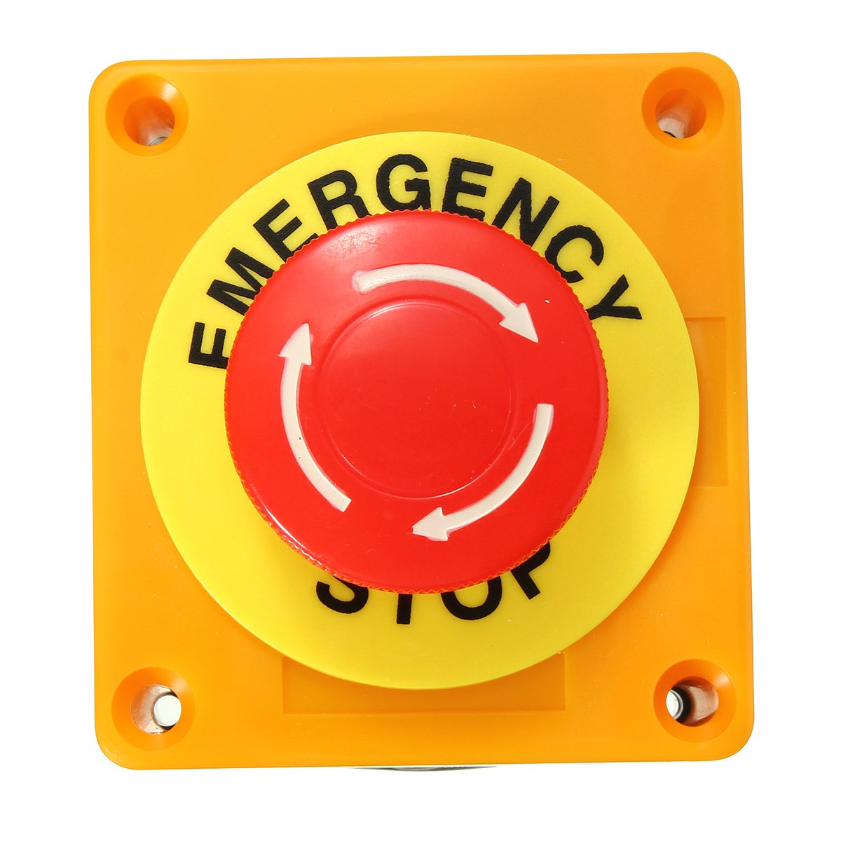 Emergency stop icon clipart emergency off - Switch 1 No 1 Nc 10a 660v Emergency Stop Push Button Switch Waterproof Self Locking Explosion