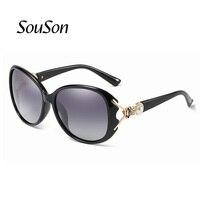 Souson Brand Fashion Design Women Sunglasses Polarized Outdoor Oversize Square Sunglass For Women With Box 7