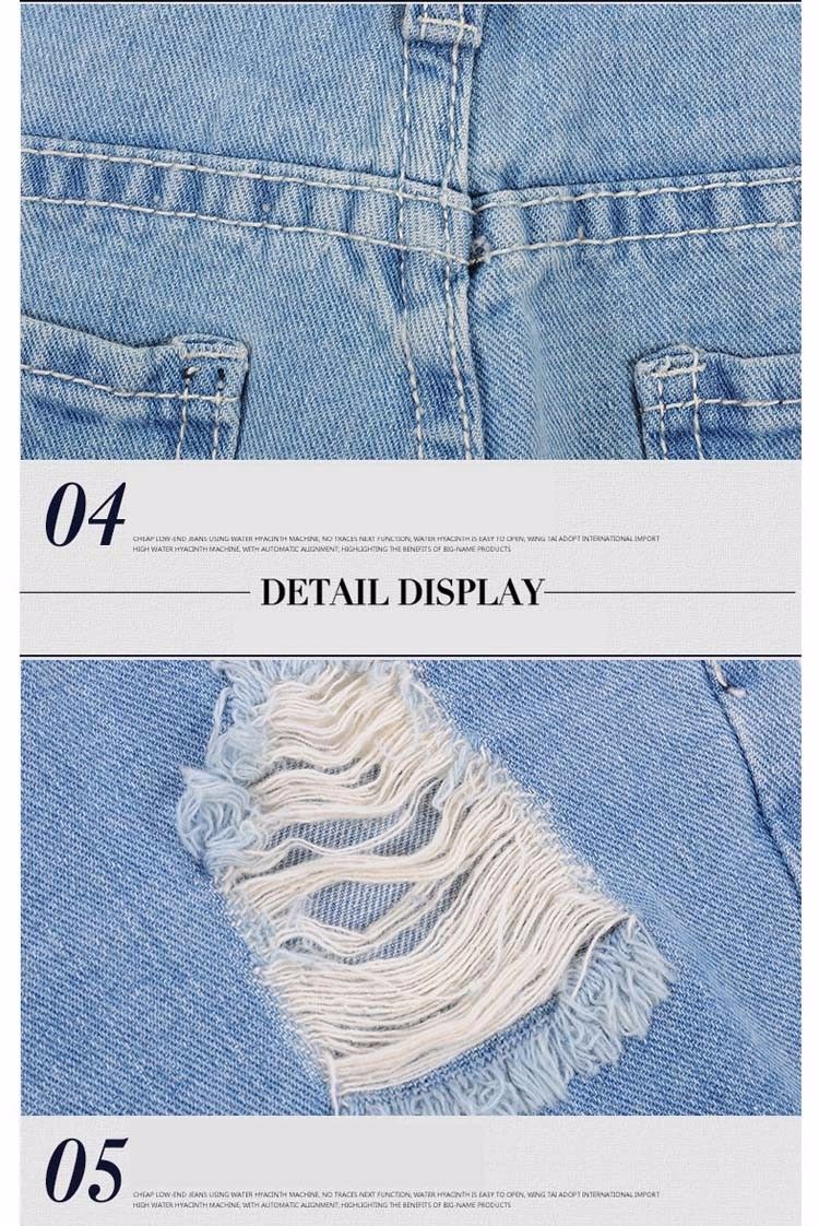 Fashion women Korean summer denim shorts sexy punk rivet hole mini jeans shorts soft bottom plus size female blue shorts A160 J