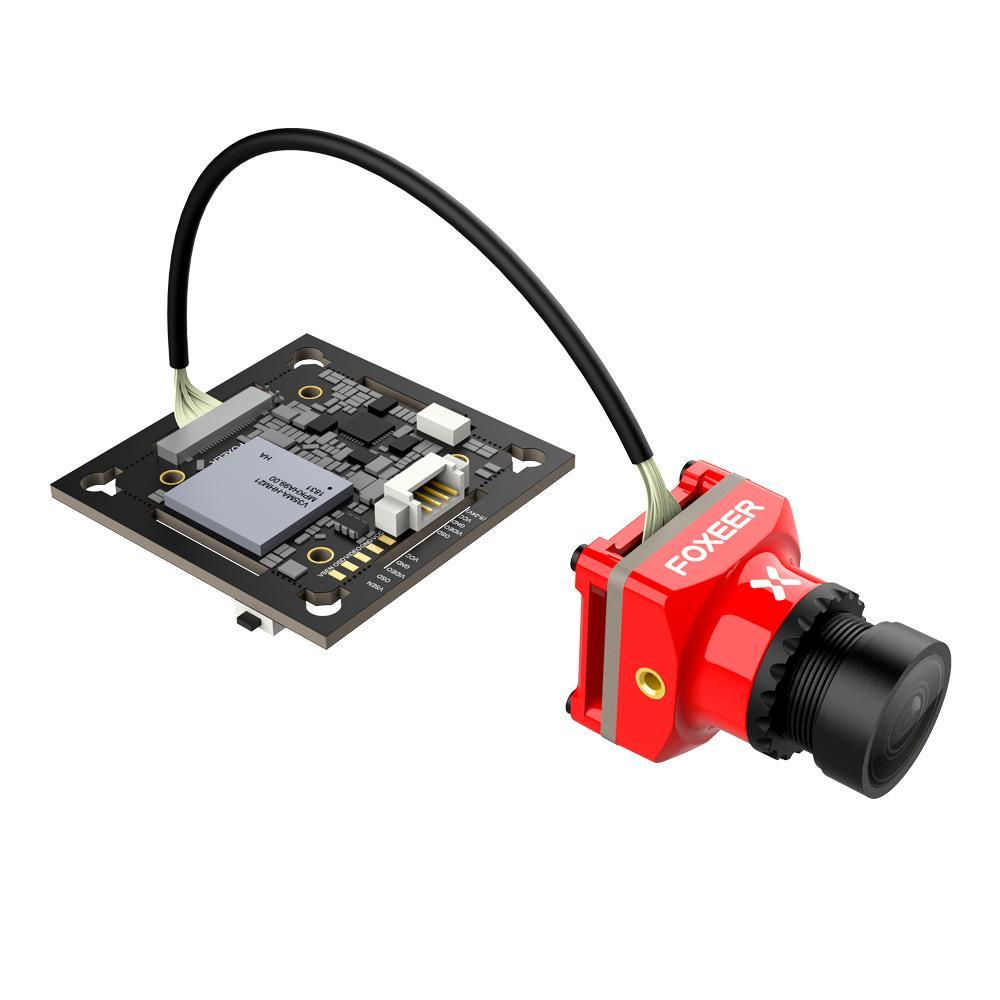 106/5000 Foxeer Mix 16:9/4:3 PAL/NTSC Switchable 1080p 60fps Super WDR Mini HD FPV Camera For RC Drone - Red/Black.106/5000 Foxeer Mix 16:9/4:3 PAL/NTSC Switchable 1080p 60fps Super WDR Mini HD FPV Camera For RC Drone - Red/Black.