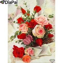 DIAPAI 5D DIY Diamond Painting 100% Full Square/Round Drill Flower landscape Diamond Embroidery Cross Stitch 3D Decor A22250 diapai 100% full square round drill 5d diy diamond painting flower landscape diamond embroidery cross stitch 3d decor a21095