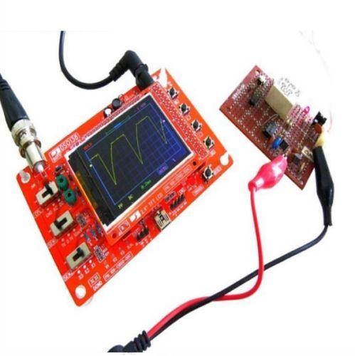 جديد DS0138 ملتقط الذبذبات الرقمي DIY كيت + مسبار Unsoldered حلقة العمل STM32 200 كيلو هرتز