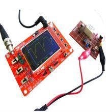 새로운 ds0138 디지털 오실로스코프 diy 키트 + 프로브 unsoldered workshop stm32 200 khz