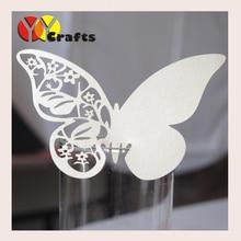 wedding decoration suppler laser cut butterfly handmade