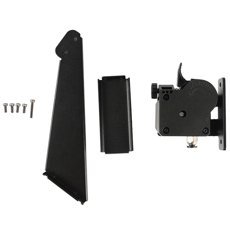 HOT-3D Printer Upgrade Twin Screw Extruder Full Metal Bracket Set For Anycubic I3 Mega-S