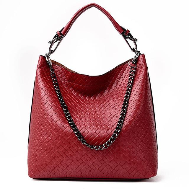 Bolso Mujer Negro 2017 Fashion Hobos Women Bag Ladies Brand Leather Handbags Spring Casual Tote Bag Big Shoulder Bags For Woman
