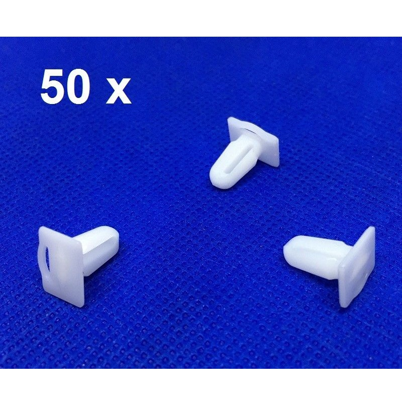50 Pieces Door Sill Plate Side Moulding Clip for <font><b>BMW</b></font> <font><b>E21</b></font> <font><b>E30</b></font> E36 OE 51471840960 image