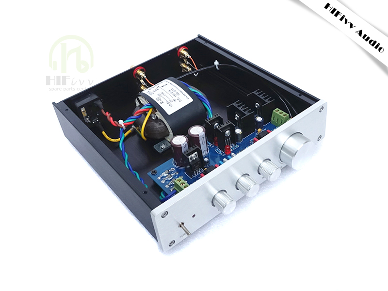 Hifivv Audio Preamplifier Finished Product Opa2604