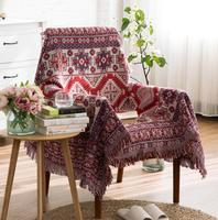 American geometry Knitted Throw Blanket thickening geometry blanket throw Home Cover Pure home travel bed sofa FG442
