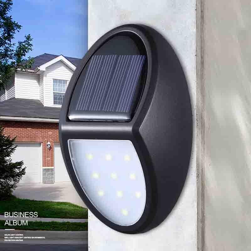 Lot 1-4 Solar Power LED Garden Lawn Lamp Outdoor Path Landscape Light Waterproof