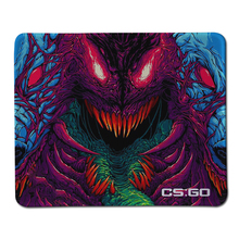 New Hyper Beast Game Mouse Pad Beast Mouse pads Large Stitch Edge Rubber Anti slip Mousepad