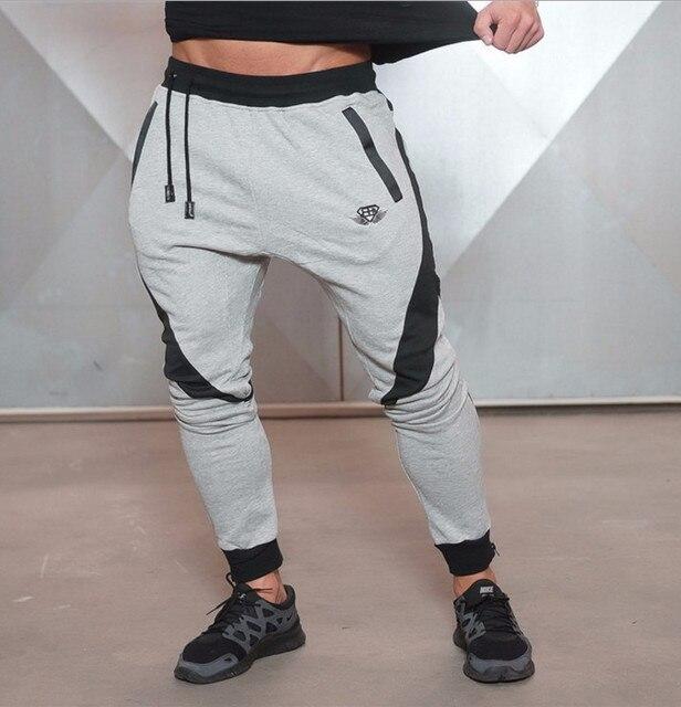 Мужская Мода Дизайн Брюки Мужчины Бренд Случайные тренировочные брюки Фитнес Одежда Gymshark Штаны Тела Инженеров Бегунов Мужчины Шаровары
