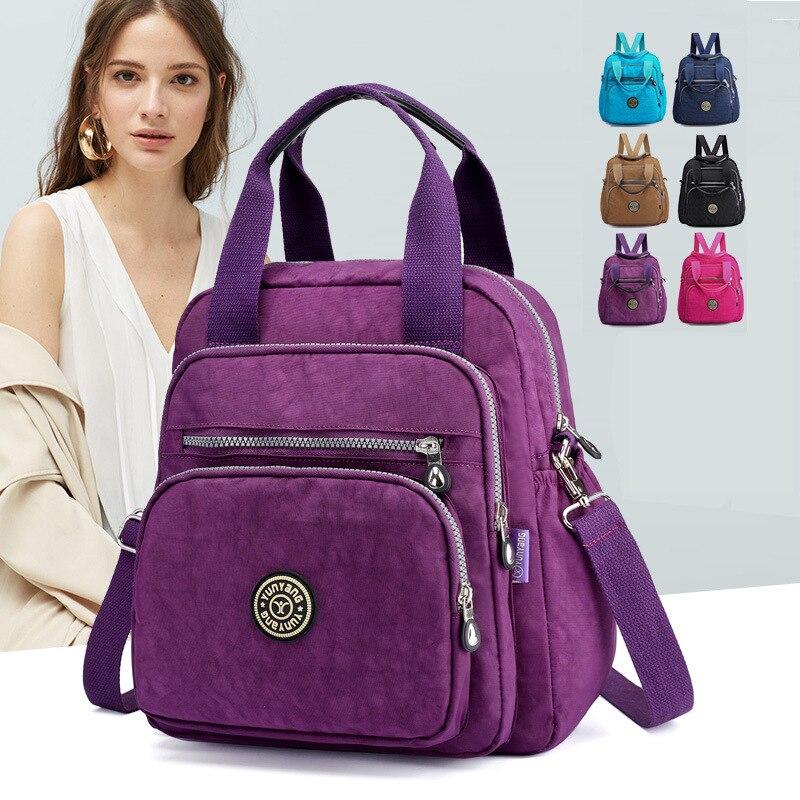 Novo à prova dwaterproof água mochila feminina moda lazer mochila portátil masculino multifuncional sacos de escola
