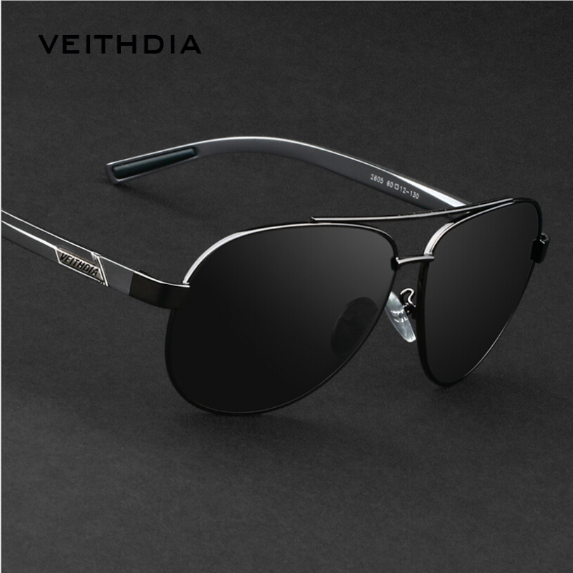 2aa655b263a VEITHDIA 2017 Aluminum Magnesium Polarized Driving Sunglasses Mens Driver Mirror  glasses Male Exercise Street Driver Eyewear-in Sunglasses from Apparel ...