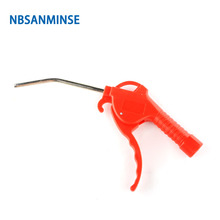 Free Shipping Air Compressor Plastic Dust Blowing Gun Air Pressure Gun Cleanner Gun Dust Cleaning Clean Handy Tool Sanmin цена и фото