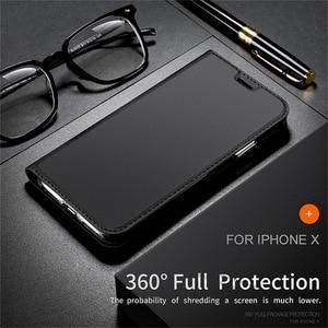 Image 2 - 磁気革ソフトフリためcoque iphone × 8 6 s 7プラスse 2020 xr 12 11プロxsマックスカードホルダースタンドカバー