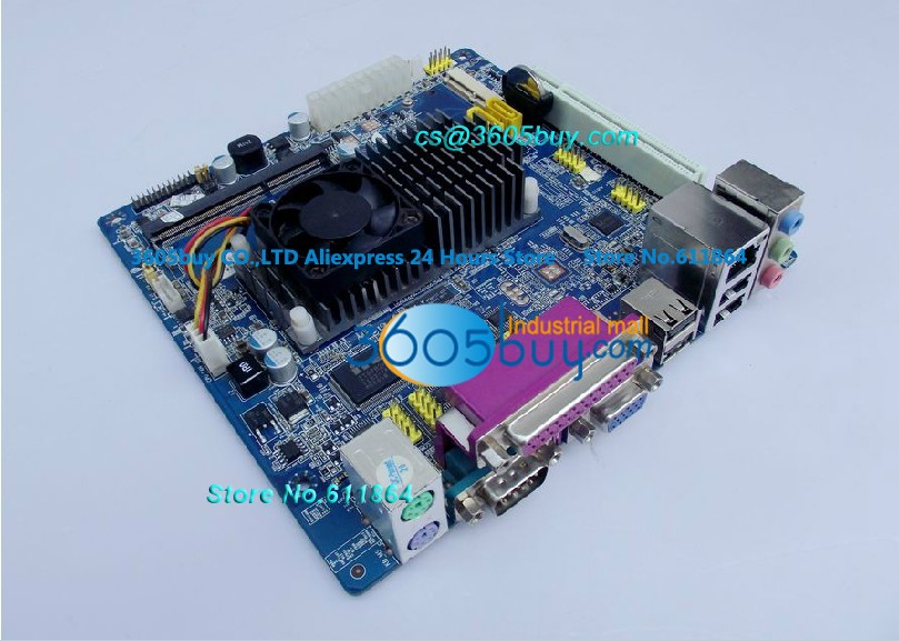 ФОТО 100% tested perfect quality D425-ILV JHS633 DDR3 Board