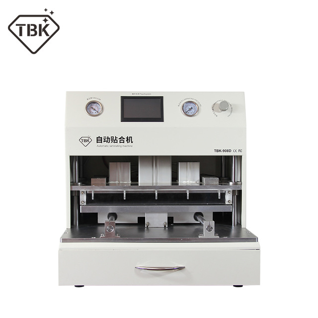 TBK 18 inch LCD Touch Screen Vacuum Laminator Machine OCA Vacuum Laminating Machine + UV curing lamp Curved Touch Screen Repair цена