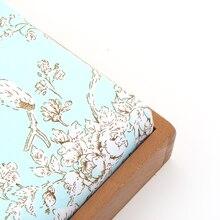 100% Baumwoll-twill Atmungsaktives Gewebe 160 cm * 50 cm Gedruckt Umweltfreundliche Gewebe Textilien Unigewebe Freies Verschiffen J1-1-183