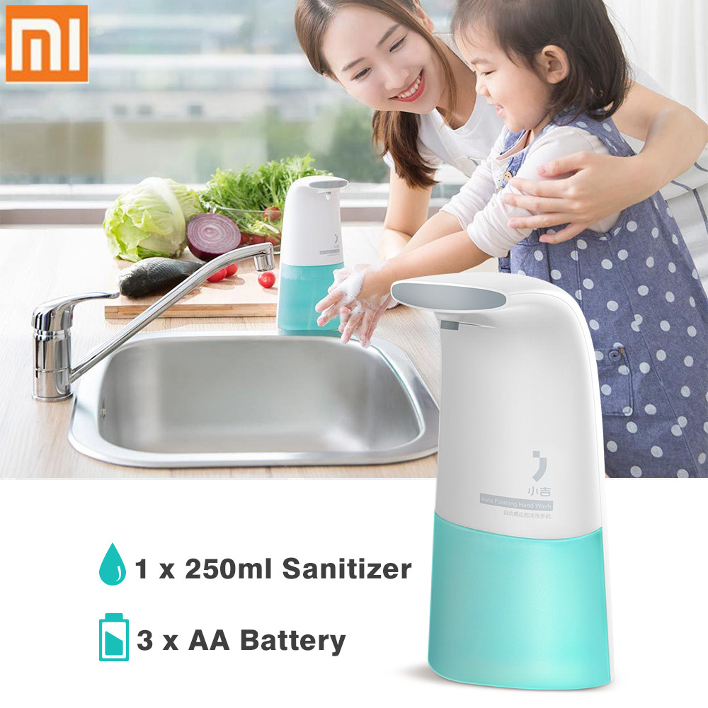 все цены на Xiaomi xiaoji Auto Induction Foaming Hand Washer Wash Automatic Soap Dispenser 0.25s Infrared induction For Baby and Family онлайн