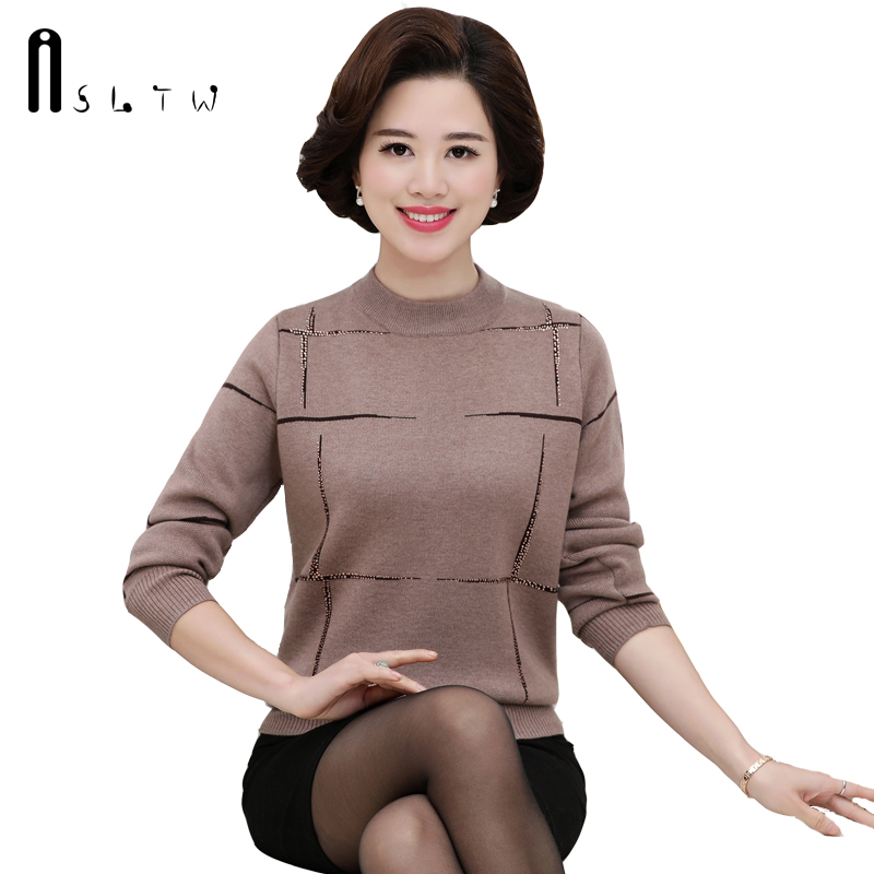 Sweater Women Plus Size Autumn Winter Fashion Long Sleeve Casual <font><b>Knitwear</b></font> Women Sweaters And Pullovers Pull Femme