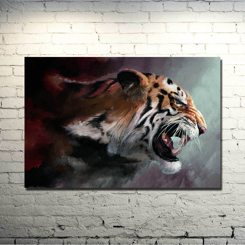 "Poster 24/"" x 36/"" Wild Tiger"