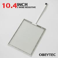 10.4 Inch USB touch screen 5 Wire Resistive Touch Screen Panel Kit USB Controller