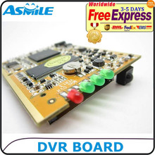 2-32GB cctv dvr board PCB BOARD with remote controller from ASmile