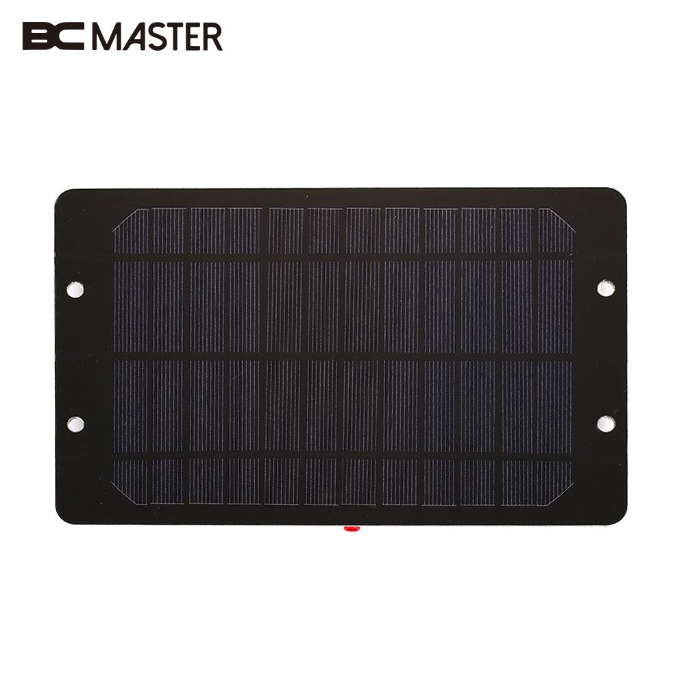 Durable Solar Charger Panel Solar Generator Solar Panel 6V 6W Monocrystalline Silicon DC Output Camping Waterproof