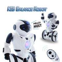 High Quality JXD KiB Children Intelligent Balance RC Robot Wheelbarrow Dancing Toy Remote Control Musical Toys