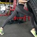 Фитнес Брюки Женские Леггинсы Бесшовные Брюки Женщины Mujer Femme полная длина брюки для женщин высокой упругой pantalon