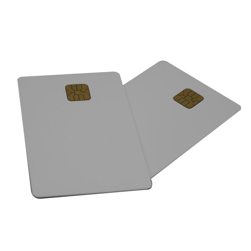 ATMEL 24C02 Card 2K PVC Blank Smart IC Card ATMEL24C02 Smart Contact IC Card ISO7816 2K Memory 1000pcs/lot