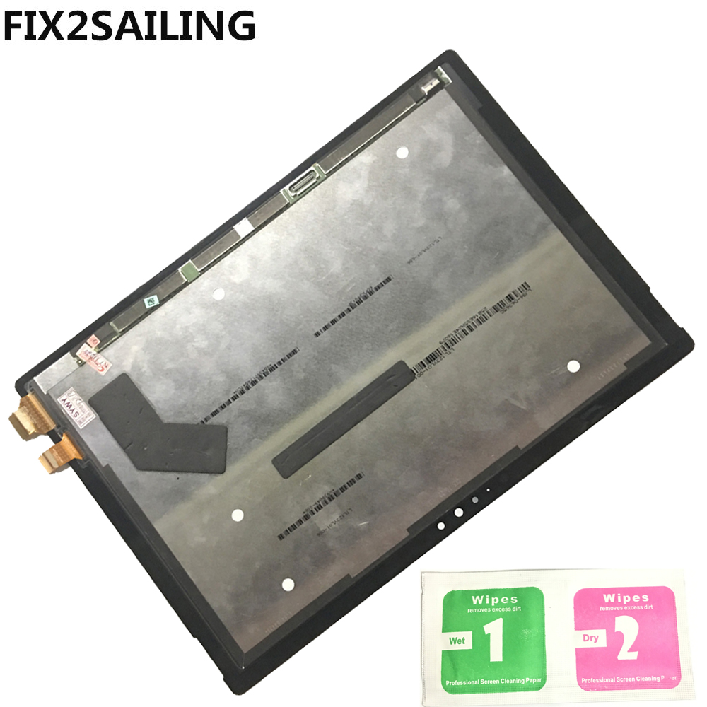 Original LCD Assembly LCD Display Touch Screen Digitizer Panel For Microsoft Surface Pro 4 1724 12.3 Inch