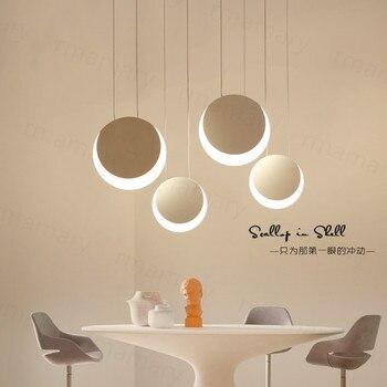 Современная подвесная декоративная светодиодная акриловая Подвесная лампа для столовой, кухни, бара, подвесной светильник, подвесные ламп...