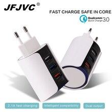 EU/US/UK USB Мощность Зарядное устройство адаптер Универсальный Быстрая зарядка QC 3.0 мобильный телефон (быстрый 2.0 Совместимость) для iphone Samsung Huawei
