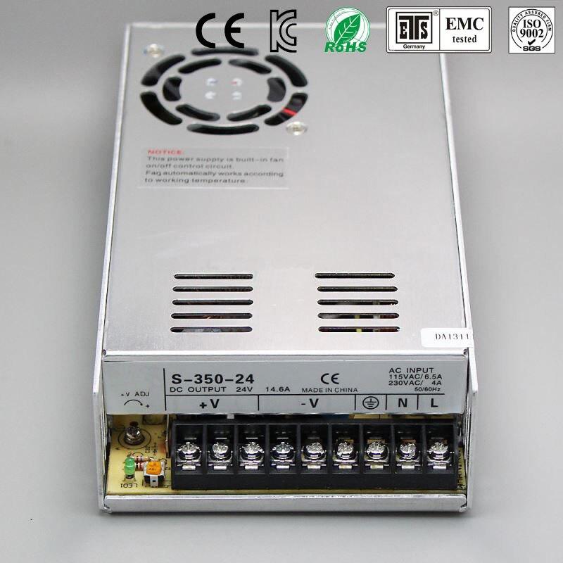 Best quality 18V 19.5A 350W Switching Power Supply Driver for LED Strip AC 100-240V Input to DC 18V free shipping best quality 360w switching power supply driver for cctv camera led strip ac 100 240v input to dc 80v 48v 40v 36v 24v 12v 5v