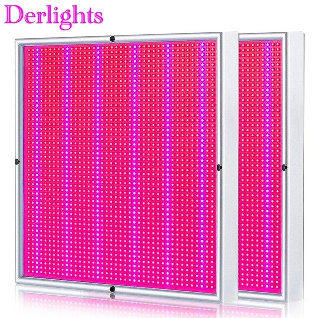 2PCS di Alto Potere LED Coltiva La Luce 200W Spettro Completo Pianta Lampada Per Le Piante Dappartamento Verdura Fiori Orticoltura Idroponica sistema di