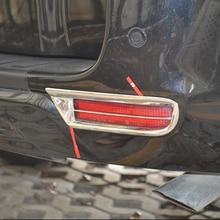 Free Shipping High Quality ABS Chrome Rear Fog lamps cover Trim Fog lamp shade Trim For Toyota RAV4 недорого