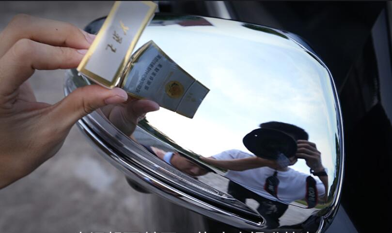 Car modificat left hand drive Chrome Rearview Side Door rearview Mirror Cover Trim 2pcs for Mercedes Benz E Class W213 2016 2017