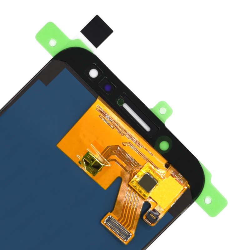 شاشات lcd لسامسونج J530 شاشة مجموعة المحولات الرقمية لشاشة تعمل بلمس لسامسونج غالاكسي J5 برو 2017 J530 J530F J530FM قابل للتعديل عرض