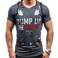 Hombre Divertido Camisetas 2016 de Los Hombres de Moda T Diseñador de la Camisa de Verano capucha Honda Camisetas Gráficas de Subir El Volumen Delgado Camiseta Homme
