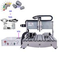 CNC 6040 800W engraving machine Ball Screw CNC 4060 water cooling Cutting Machine 4 axis